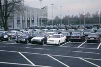 Склад готовых автомобилей BRABUS
