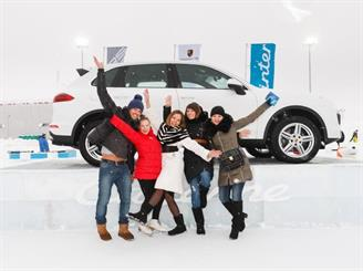 "Московский ""PORSCHE WINTER FESTIVAL 2015"""
