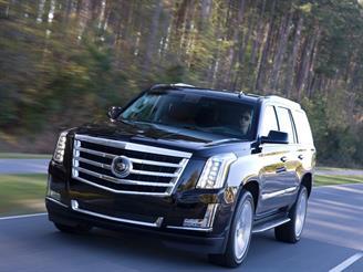 В России появился новый Cadillac Escalade