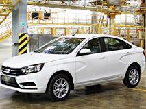 АвтоВАЗ показал первое фото седана Lada Vesta