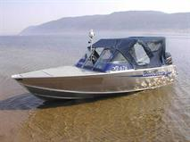 Моторная лодка за заказ на ремонт дороги, фото 1