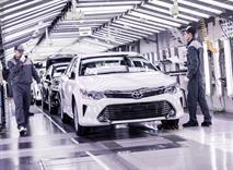 Toyota начала сборку новой Camry под Санкт-Петербургом, фото 1