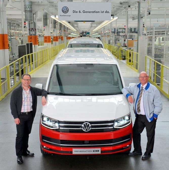 Новый Volkswagen T6 пошел в серию, фото 1