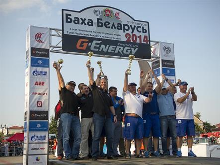 Команда «ПЭК» настроена повторить прошлогодний успех на Бахе «Беларусь 2015»
