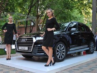 Новый Audi Q7 представили на территории бывшего Бадаевского завода
