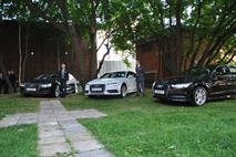 Новый Audi Q7 представили на территории бывшего Бадаевского завода, фото 5