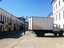 В Москве усилят контроль за парковкой грузовиков