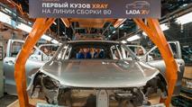 Новая Lada Xray встала на конвейер, фото 1
