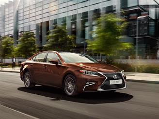 Открыт прием заказов на новый Lexus ES