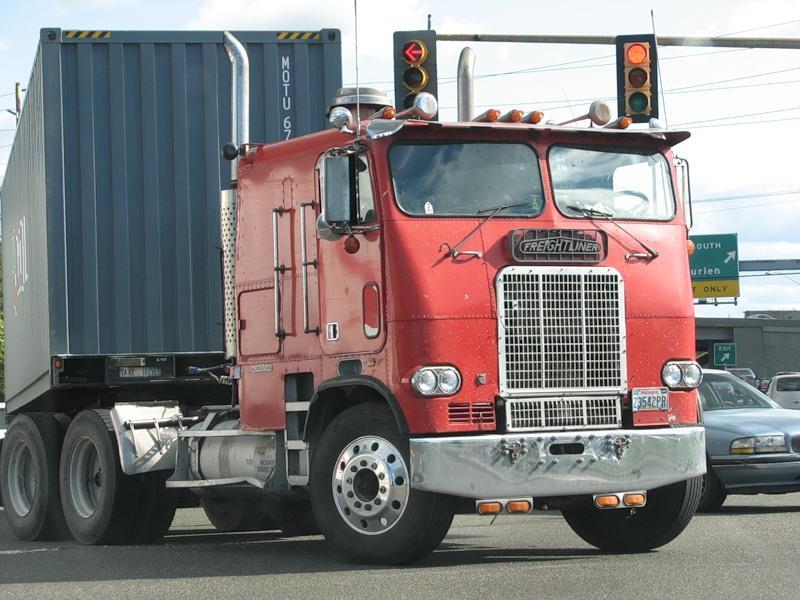 американские ретро грузовики фото