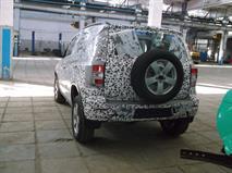 Появились шпионские фото новой Chevrolet Niva, фото 1
