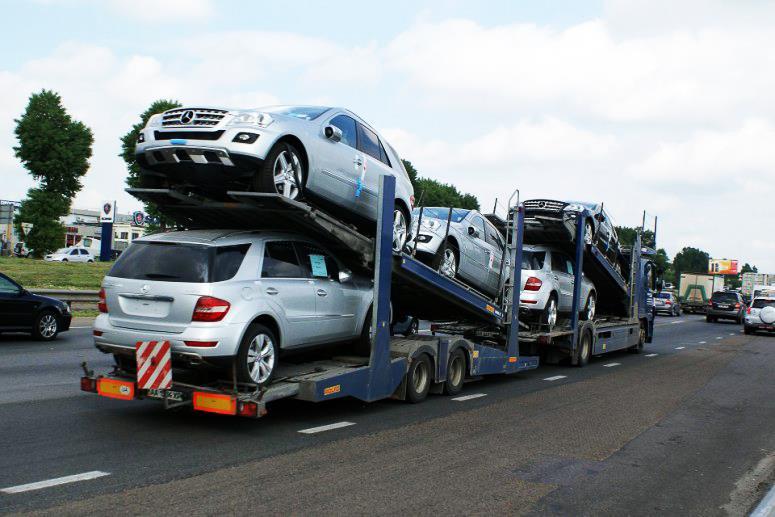 Импорт легковых автомобилей в