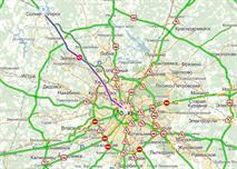 Введение платы за проезд из Москвы в Шереметьево привело к сильным пробкам, фото 1