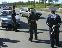 На МКАДе сбили инспектора полиции, фото 1