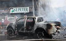 У российского генконсульства в Сирии взорвался автомобиль, фото 1