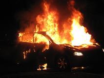 В Москве подожгли пять дорогих иномарок, фото 1