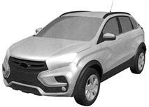 Lada Xray Cross показали на патентных изображениях, фото 2