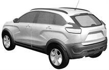 Lada Xray Cross показали на патентных изображениях, фото 3