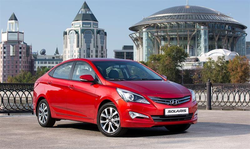 Hyundai Solaris подорожал на 22 тыс. рублей