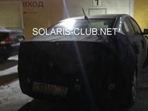 Новый Hyundai Solaris показали на фото, фото 1