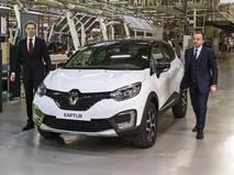 Renault начал собирать в Москве уникальный кроссовер