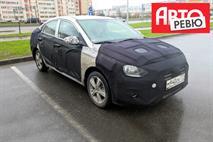 Новый Hyundai Solaris заметили в Санкт-Петербурге, фото 1