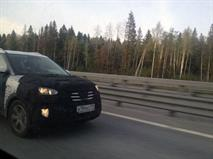 Новый кроссовер Hyundai Creta заметили на тестах в Питере, фото 1