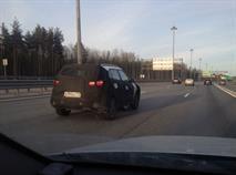 Новый кроссовер Hyundai Creta заметили на тестах в Питере, фото 2