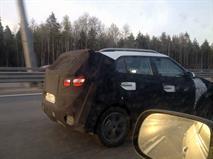Новый кроссовер Hyundai Creta заметили на тестах в Питере, фото 3