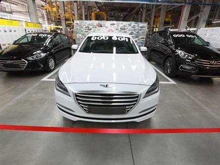 В Калининграде начали собирать три новых модели Hyundai