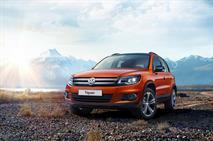 Volkswagen привез в Россию особый Tiguan