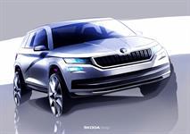 Skoda раскрыла дизайн своего первого большого SUV, фото 1