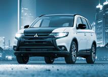 Mitsubishi привез в РФ юбилейный Outlander с двухцветным кузовом, фото 1