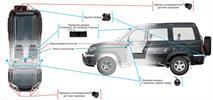 УАЗ «Патриот» получил систему кругового обзора, фото 2