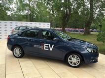 Lada Vesta стала электрокаром, фото 1