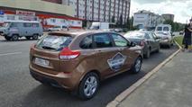 На испытаниях дорог в Омске журналисты сломали Lada Xray, фото 1