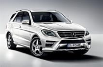 В России отзовут Mercedes-Benz ML