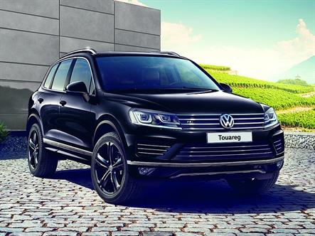 Российский Volkswagen Touareg получил спецверсию