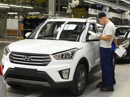 Hyundai российской сборки отправят в Тунис и Грузию