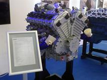 Представлен двигатель V12 для российского лимузина, фото 1