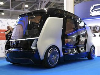 КамАЗ и «Яндекс» представили беспилотный автобус