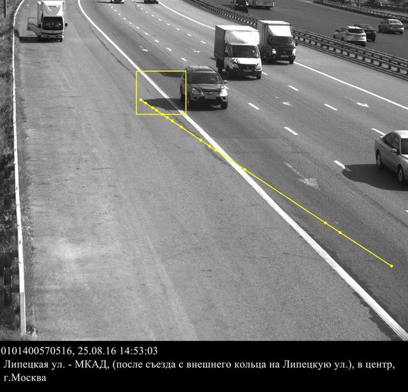 Москвич получил штраф за тень от автомобиля
