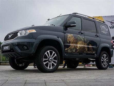 Модернизированный УАЗ «Патриот» появится в октябре
