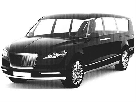 Микроавтобус для президента РФ показали на патентных снимках