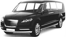 Микроавтобус для президента РФ показали на патентных снимках, фото 1