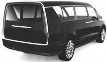 Микроавтобус для президента РФ показали на патентных снимках, фото 2