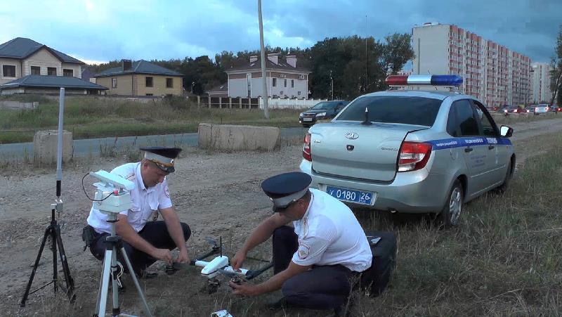 ГИБДД впервый раз оштрафовала водителей при помощи квадрокоптера