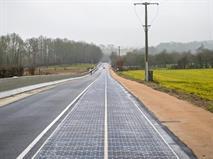 В РФ появятся дороги из солнечных батарей