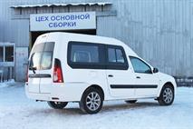 Lada Largus получила увеличенный кузов, фото 1