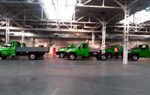 Новый грузовик УАЗа сфотографировали на конвейере, фото 1